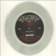 Click here for more info about 'Krokus - Our Love - Clear Vinyl'