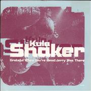 Click here for more info about 'Kula Shaker - Grateful When You're Dead - White barcode'