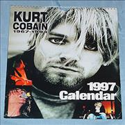 Click here for more info about 'Kurt Cobain - Calendar 1997 - Oliver Books'