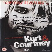 Click here for more info about 'Kurt Cobain - Kurt & Courtney - Autographed'