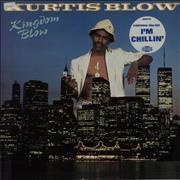 Click here for more info about 'Kurtis Blow - Kingdom Blow - Gold promo stamped'