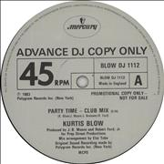 Click here for more info about 'Kurtis Blow - Party Time'