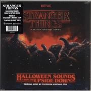 Click here for more info about 'Kyle Dixon & Michael Stein - Stranger Things: Halloween Sounds From The Upside Down - Orange Vinyl + Sealed'
