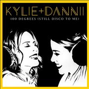Click here for more info about 'Kylie Minogue - 100 Degrees (Still Disco To Me) - Clear Vinyl - Sealed'