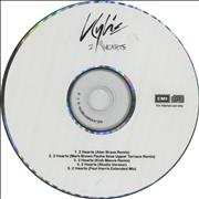 Click here for more info about 'Kylie Minogue - 2 Hearts - 5-track'