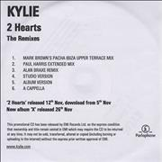 Click here for more info about 'Kylie Minogue - 2 Hearts - The Remixes'