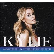 Kylie Minogue Aphrodite: Les Folies Tour Edition Australia 3-CD set