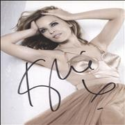 Click here for more info about 'Kylie Minogue - Autographed Postcard'