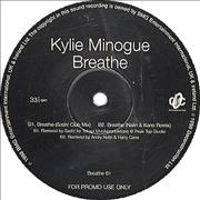 Click here for more info about 'Kylie Minogue - Breathe - 4-track promo'