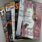 Click here for more info about 'Kylie Minogue - Collection of 7 TV Guides & Newspaper Supplements'