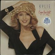Click here for more info about 'Kylie Minogue - Enjoy Yourself + Poster - Sealed'