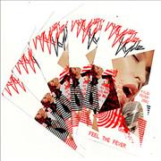 Click here for more info about 'Kylie Minogue - Feel The Fever - Five Postcards'