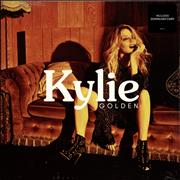 Click here for more info about 'Kylie Minogue - Golden - Black Vinyl + Photograph'