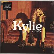 Click here for more info about 'Kylie Minogue - Golden - Clear Vinyl - Sealed'