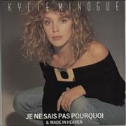 Click here for more info about 'Kylie Minogue - Je Ne Sais Pas Pourquoi'