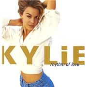 Kylie Minogue Rhythm Of Love UK vinyl LP