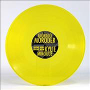 Click here for more info about 'Kylie Minogue - Right Here Right Now - Yellow Vinyl'