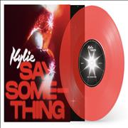 Click here for more info about ' - Say Something - Red Vinyl'