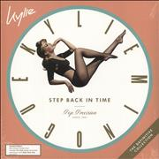 Kylie Minogue Step Back In Time: The Definitive Collection - Mint Green Vinyl - Sealed UK 2-LP vinyl set