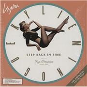 Kylie Minogue Step Back In Time: The Definitive Collection - Mint Green Vinyl UK 2-LP vinyl set Promo