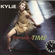 Click here for more info about 'Kylie Minogue - Step Back In Time'