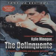 Kylie Minogue The Delinquents Italy DVD