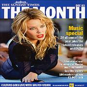 Click here for more info about 'Kylie Minogue - The Month - from The Sunday Times newspaper Dec '03'