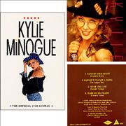 Click here for more info about 'Kylie Minogue - The Official 1990 Annual + CD'