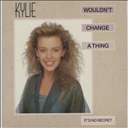 Click here for more info about 'Kylie Minogue - Wouldn't Change A Thing - Jukebox'