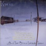 Kyuss ...And The Circus Leaves Town USA CD album Promo