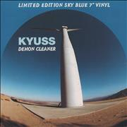 Click here for more info about 'Kyuss - Demon Cleaner - Sky Blue Vinyl + p/s'