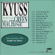 Click here for more info about 'Kyuss - Green Machine'