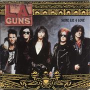 Click here for more info about 'L.A. Guns - Some Lie 4 Love + Poster - EX'