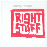 Click here for more info about 'LC Anderson vs Psycho Radio - Right Stuff'
