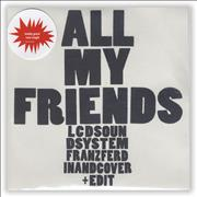 Click here for more info about 'LCD Soundsystem - All My Friends'