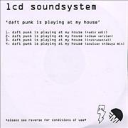 Click here for more info about 'LCD Soundsystem - Daft Punk Is Playing At My House'