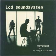 "LCD Soundsystem Movement UK 7"" vinyl"