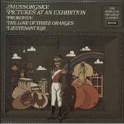 Click here for more info about 'L'Orchestre De La Suisse Romande - Mussorgsky: Pictures At An Exhibition/ Prokofiev: Lieutenant Kije/ The Love Of Three Oranges'