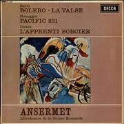 Click here for more info about 'L'Orchestre De La Suisse Romande - Ravel: Bolero & La Valse / Honegger: Pacific 231 / Dukas: L'Apprenti Sorcier'