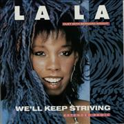 Click here for more info about 'La La - We'll Keep Striving'