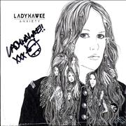 Click here for more info about 'Ladyhawke - Anxiety - Autographed'