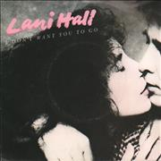 Click here for more info about 'Lani Hall - I Don't Want You To Go - A-Label + P/S'