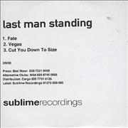 Click here for more info about 'Last Man Standing - Fate'