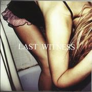 Click here for more info about 'Last Witness - An Unfinished Life - Clear and Black Splatter Vinyl'