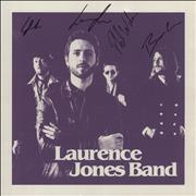 Click here for more info about 'Laurence Jones Band - Purple Vinyl + Autographed'