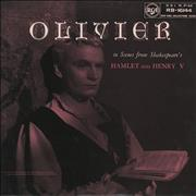 Click here for more info about 'Laurence Olivier - Scenes From Shakespeare's Hamlet And Henry V'