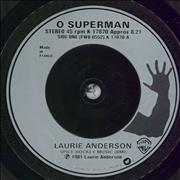 Click here for more info about 'O Superman'