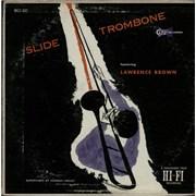 Lawrence Brown Slide Trombone USA vinyl LP