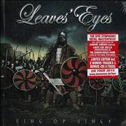 Click here for more info about 'Leaves' Eyes - King Of Kings - Sealed Deluxe Edition'