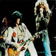 Click here for more info about 'Led Zeppelin - 1975 US Tour Photograph - Autographed'